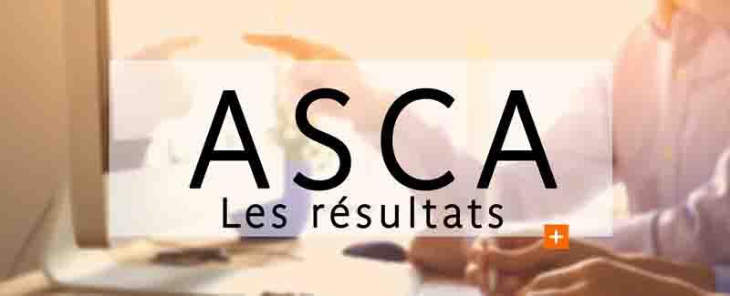 Résultats des ASCA (session janvier 2020)