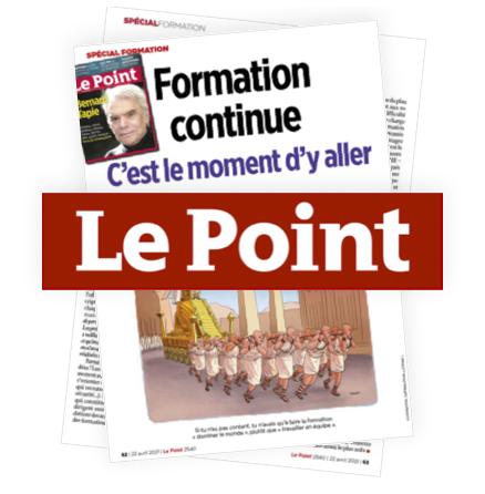 Le Point : palmarès des «Meilleurs Instituts de Formation en France 2021», ADF en fait partie !